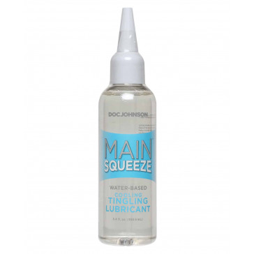 Main Squeeze Cooling/Tingling Water-Based Lubricant – 3.4 oz