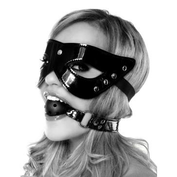 Fetish Fantasy Series Masquerade Mask & Ball Gag