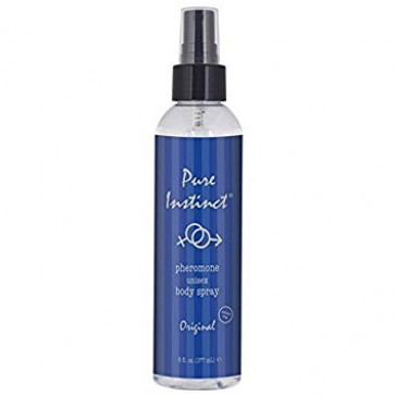 Pure Instinct pheromone unisex body spray 6oz