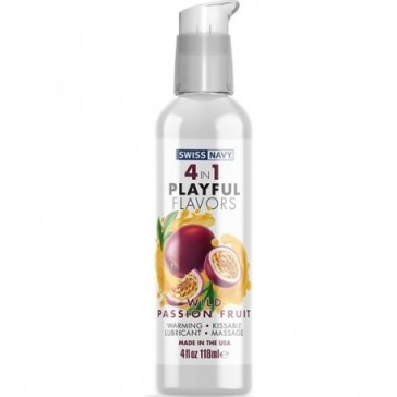 Lubricante 4 in 1 - Playful Flavors - Wild Passion Fruit