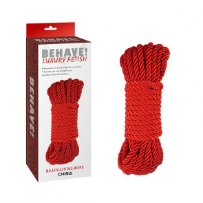 Behave Luxury Fetish Reatrain Me Rope