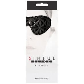 Sinful Blindfold - Black